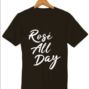 Tops - NEW Rose All Day Tee, S-5X available, Womens shirt